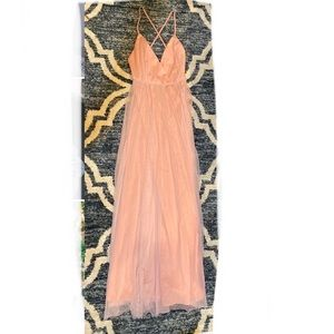 Pink Bridesmaids dress or any event dress small
